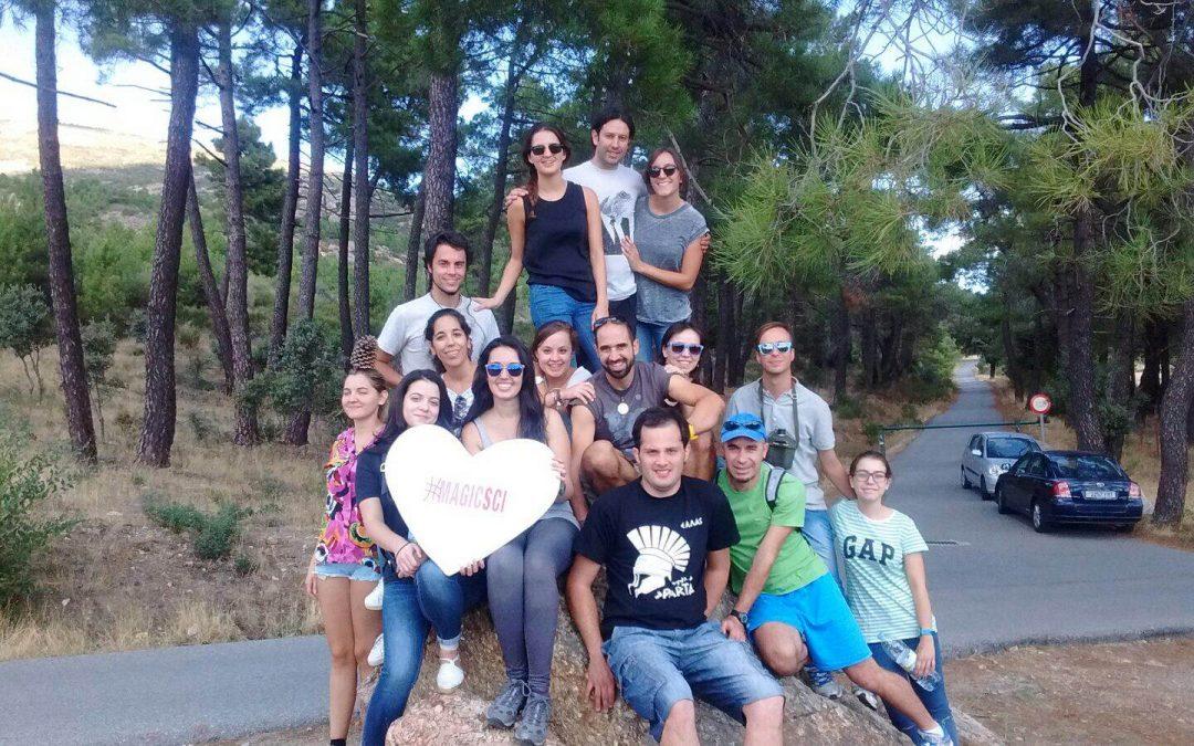 Rentrée: El encuentro mágico de los voluntarios de SCI