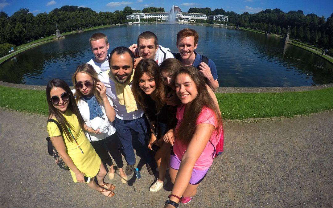 """Voluntariado en Alemania : """"formar parte de un equipo de voluntarios tan motivados fue muy interesante y gratificante"""""""
