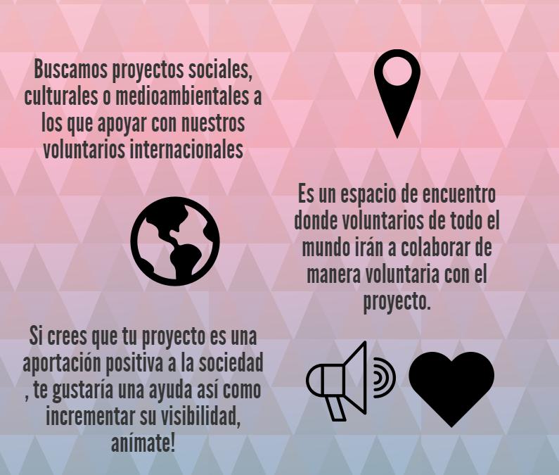 ¡Crea un campo de voluntariado!