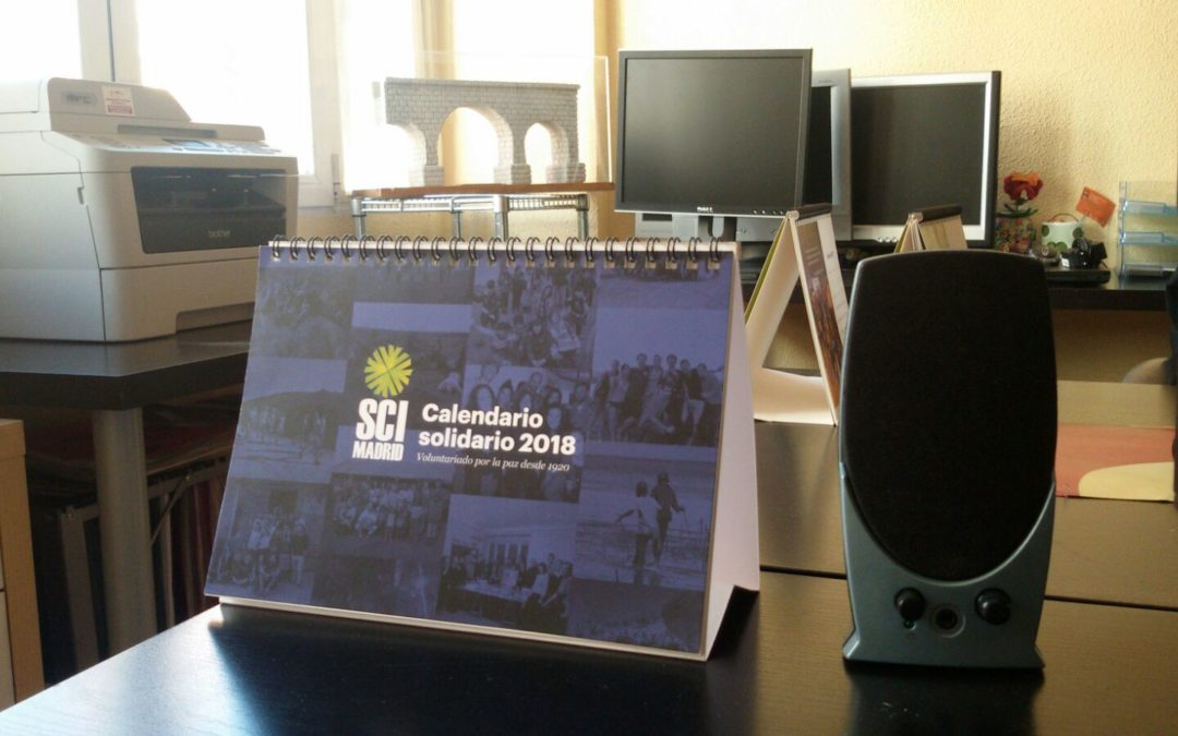 Calendario Solidario de SCI 2018