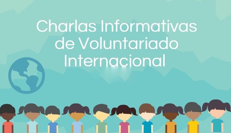 Charlas informativas de Voluntariado internacional
