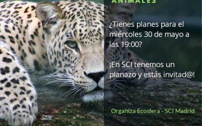 Charla sobre Tráfico ilegal de especies