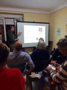 charla arriba las ramas el cambio empieza contigo voluntariado local activismo medioambiente servicio civil madrid