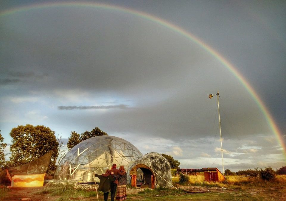 Ecoaldea de Suderbyn, Suecia