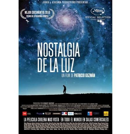 Actividad Cinefórum 31 enero: Nostalgia de la luz