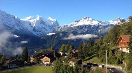 Voluntariado CES en una escuela internacional en Suiza