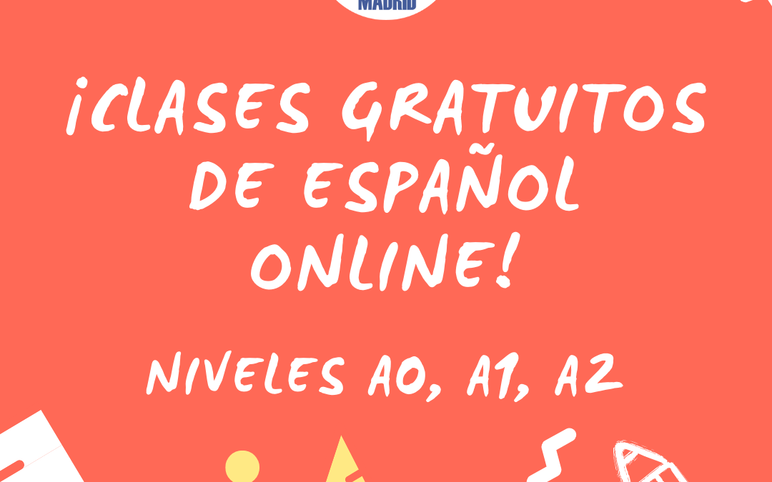 Free online Spanish classes from SCI Madrid!